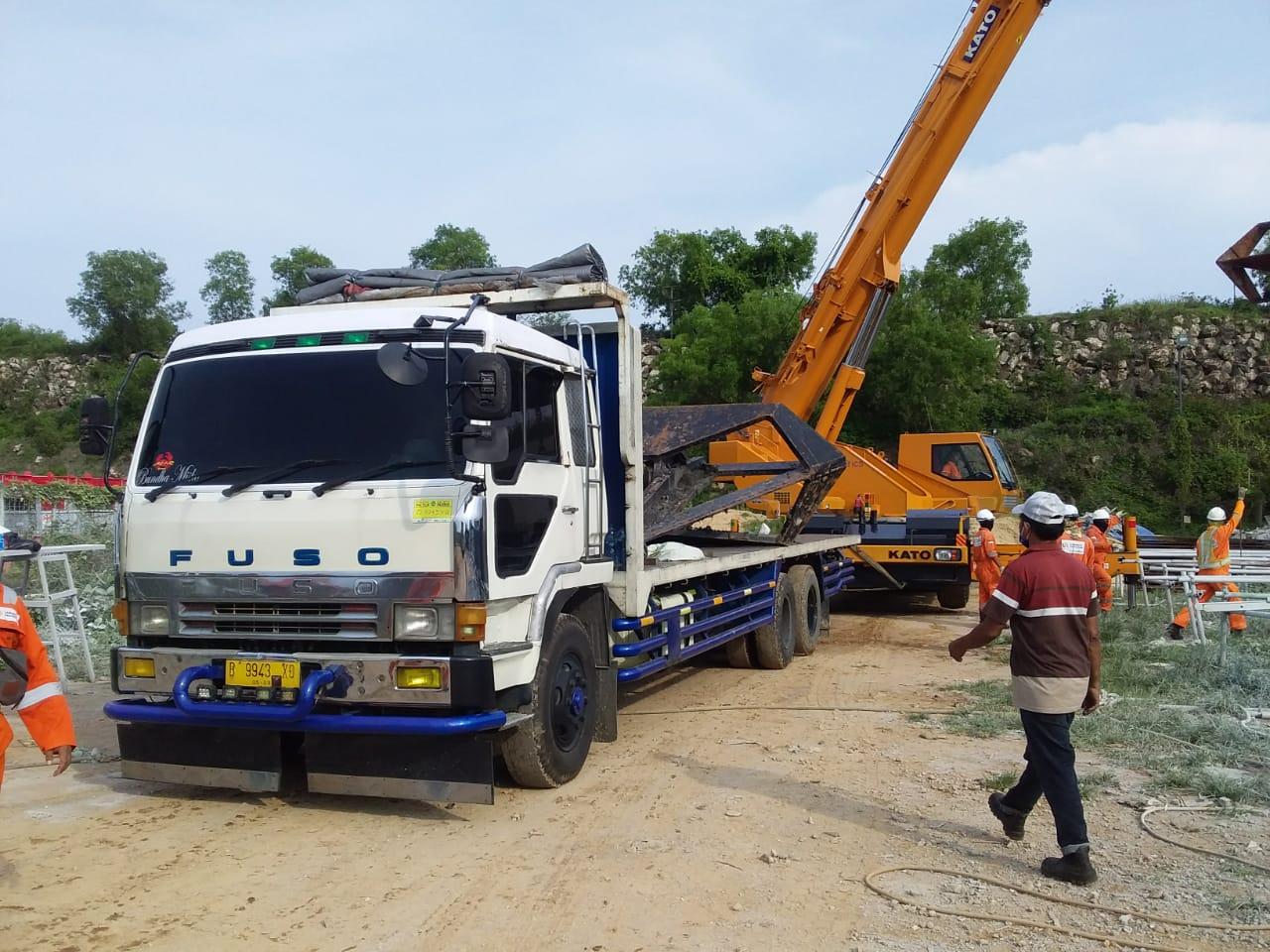 Mobilisasi Logistik Proyek
